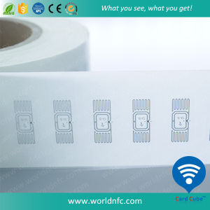 Blank Paper UHF RFID Sticker with Alien H4 Chip pictures & photos
