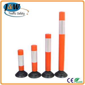 Flexible Warning Post for Road, Delineator Bollard pictures & photos
