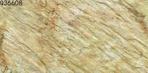 Porcelain Beige Rustic Stone Wall Tile for Outdooor (300X600mm) pictures & photos