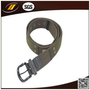 2015 Fashion Men′s Casual Braided Webbing Belt (HJ3031)