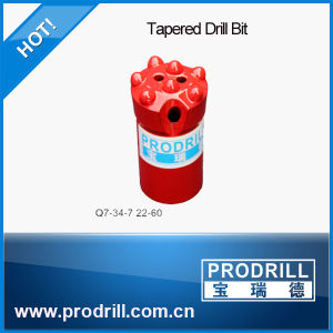 Dia 20-40mm Tapered Button Drill Bit for Small Hole Drilling pictures & photos
