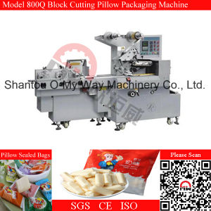 Toffee Candy Cut Wrap Machine Pillow Type Packing Machine pictures & photos