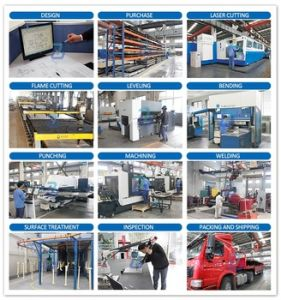 Coated Custom Processing Steel Welding Fabrication Parts pictures & photos