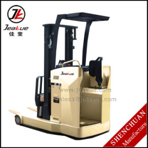 Best -Selling 1.5t-2t Stand on Forward Electric Forklift Truck pictures & photos