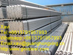 Q235D, A36, Q235C, Q345c Hot Rolled Steel Angle, Angle Steel pictures & photos
