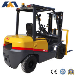 4ton Chinese Hefei Hydraulic Diesel Forklift with Ce Certification pictures & photos