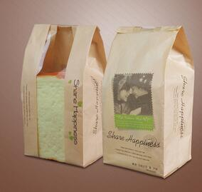 Cheap Recycle Kraft Paper Bag with Printing for Bakery pictures & photos