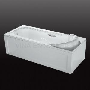 Freestanding Square Apron/Skirt Acrylic Bathtub B3003