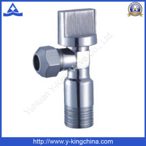 Chromed Saudis Brass Angle Valve for Bathroom (YD-5018) pictures & photos
