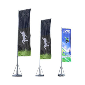 Short Delivery Promotion Flag and Banners/Cheap Exhibition Flag Banner Display pictures & photos