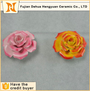 Wholesale Handmade Small Ceramic Flowers Craft for Decoration pictures & photos