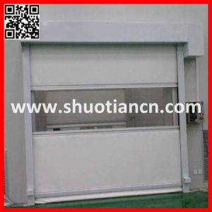 High Speed Fast Rolling Door/High Speed Automatic Roller Shutter Gate (ST-001) pictures & photos