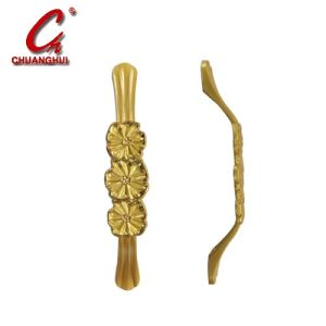 Hardware Furniture Cabinet Decorate Gold Planted Handle pictures & photos