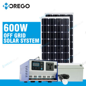 Morego off Grid 600W Portable PV System / Solar Panel Generator pictures & photos