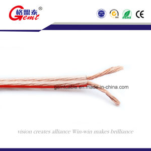 Parallel Twin Flat Wire/Speaker Cable 2X1.0mm2; 2X1.5mm2; 2X2.0mm2; 2X2.5mm2; pictures & photos