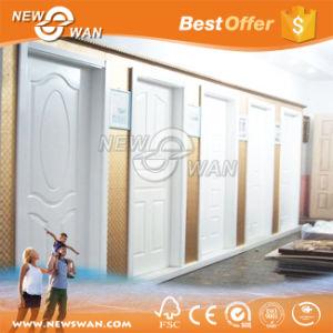 Italian White Wood Grain Primer Coating Door pictures & photos