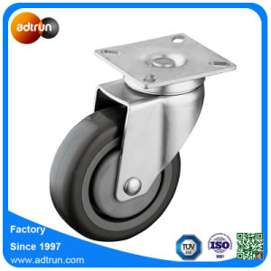 Medium Duty PU Wheel Casters Ball Bearing, 100 Kg Capacity pictures & photos