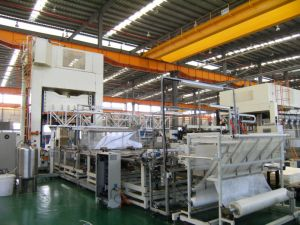 Automotive Headliner Wet System Production Equipment with Automation System pictures & photos