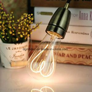 flexible soft filament LED bulb hot sale ST64 2200K 4W pictures & photos