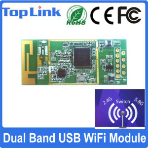 Mtk 802.11AC 1T1R Mt7610u 600Mbps Embedded WiFi USB Module for Wireless Transmitter and Receiver pictures & photos