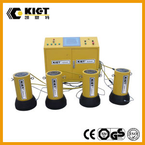 PLC Synchronous Lifting System for Bridge Bearing Replacement pictures & photos
