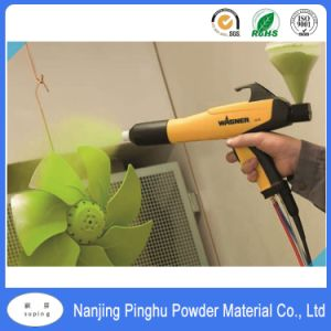 Hot Sale Apple Green Anticorrosive Powder Coating with Good Decorative Property pictures & photos