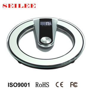 8mm Termpered Glass Electronic Personal Weighing Scale pictures & photos