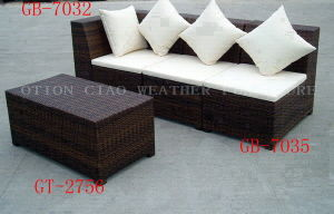 Sofa Set (GT-2756, GB-7032, GB-7035) for Home & Hotel & Outdoor