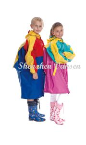 Children PVC Raincoat pictures & photos