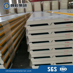 Polyurethane PU Cold Room Sandwich Panel pictures & photos
