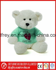 Plush Cute Brown Teddy Bear Toy with T-Shirt pictures & photos