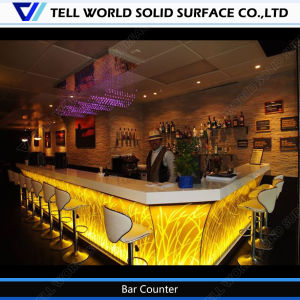 Artificial Stone OEM Sercie Modern Bar Counter for Nightclub pictures & photos