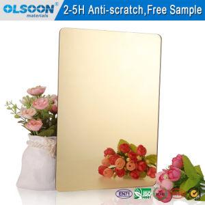 Olsoon Silver Acrylic Mirror PMMA Mirror Makeup Mirror Wall Decorative Mirror pictures & photos