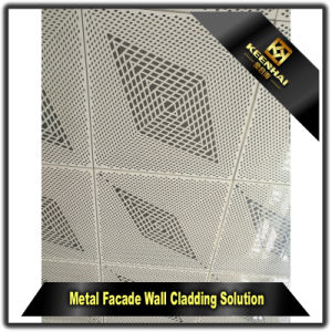 Building Exterior Laser Cut Metal Wall Panels pictures & photos