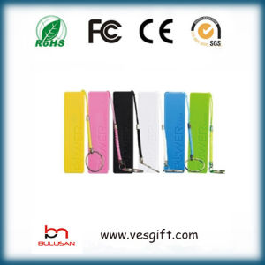 OEM ABS Mini Rectangular 2600mAh Li-ion Battery Portable Power Bank pictures & photos
