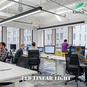 Suspended LED Linear Trunking Light for Office, Supermarket Lighting 3567series pictures & photos