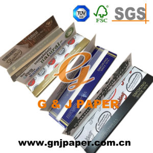 King Size Smoking Paper for Spain in Red/Bule Wrapping pictures & photos