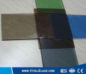 Tinted/Colored Float Glass for Building Glass with CE&ISO9001 pictures & photos