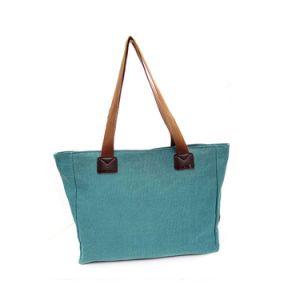 Fashion Lady Handbags Casual Canvas Shoulder Bag Travel Shopping Bag pictures & photos