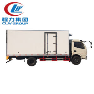 Foton 4X2 Refrigerator Van Truck for Sale pictures & photos