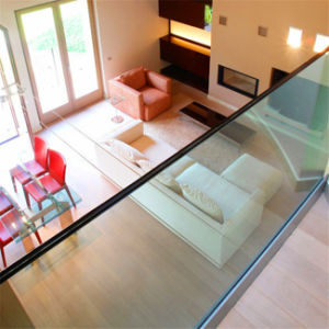 Exterior Glass Railing with Stainless Steel System pictures & photos