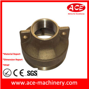 CNC Machining of Metal Powder Coating Part pictures & photos