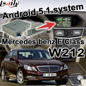 Android GPS Navigation System Video Interface for Mercedes-Benz E W212 Class (NTG-4.5) pictures & photos
