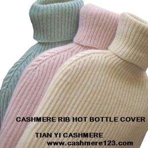 Cashmere Rib Hot Bottle Cover pictures & photos