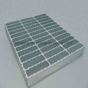 Welded Serrated Hot DIP Galvanizing Steel Grating From Professional Manufacturer pictures & photos