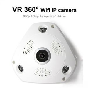 Newest 960p 3D Vr Panoramic Wireless WiFi IP CCTV Home Security Camera pictures & photos