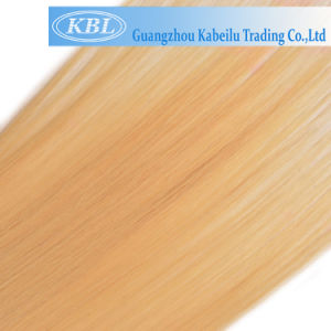 613 Blond Color European Human Hair Weft pictures & photos