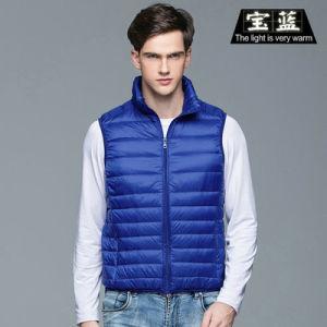 Men Down Vest Sleeveless Light Weight Down Jacket Vest Jacket pictures & photos