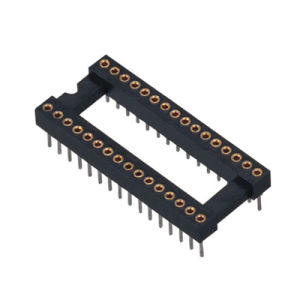 1.778mm H=3.0 15.24 Machined IC Socket
