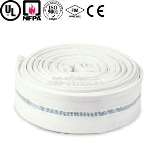 Canvas Cotton Flexible Fire Fighting Wearproof Hose Pipe pictures & photos